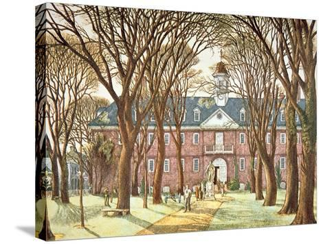 The College of William and Mary--Stretched Canvas Print