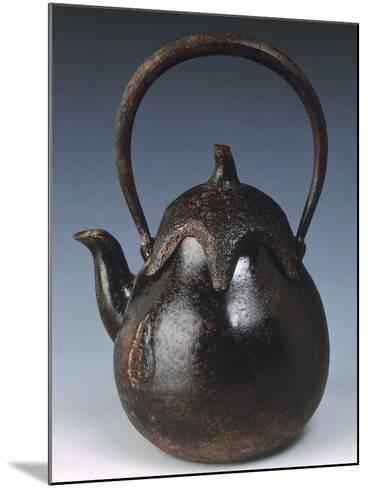 Kettle for Tea in Shape of Eggplant--Mounted Giclee Print