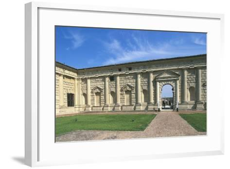 Inner Courtyard of Palazzo Te--Framed Art Print