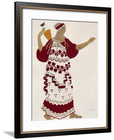 Nymph Costume for Afternoon of Faun--Framed Art Print
