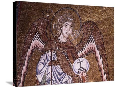 Half-Figure of Archangel Michael--Stretched Canvas Print