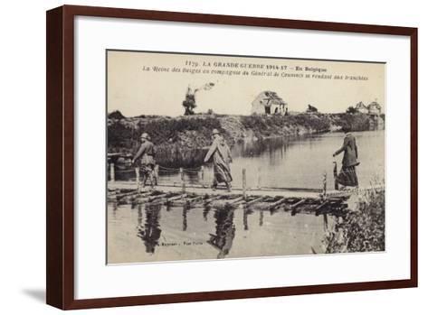 The Queen of the Belgians--Framed Art Print