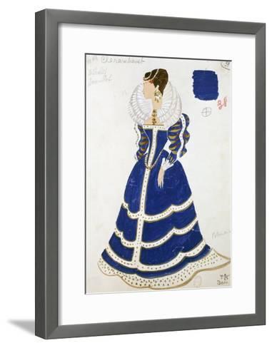 Polish Lady--Framed Art Print