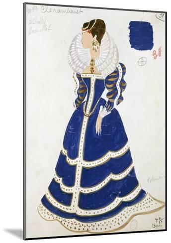Polish Lady--Mounted Giclee Print