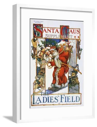 Santa Claus--Framed Art Print