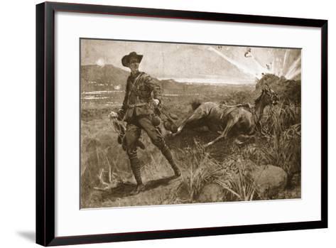 A Gallant Feat--Framed Art Print