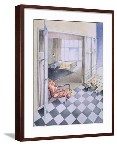 Bedroom--Framed Art Print