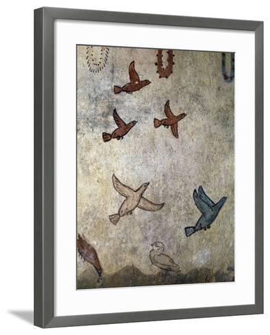 Birds in Flight--Framed Art Print