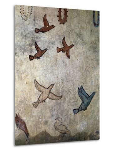 Birds in Flight--Metal Print
