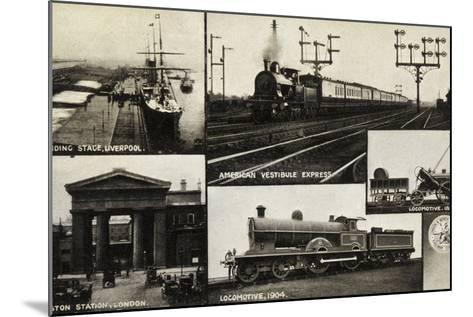 Landing Stage--Mounted Photographic Print