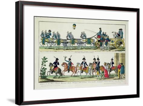 Entry to Paris of Charles--Framed Art Print