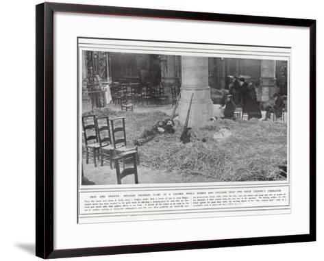 Rest and Prayer--Framed Art Print