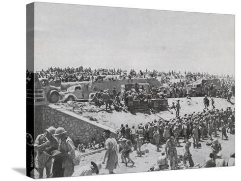 Capture of Tobruk--Stretched Canvas Print