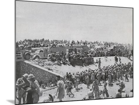 Capture of Tobruk--Mounted Photographic Print