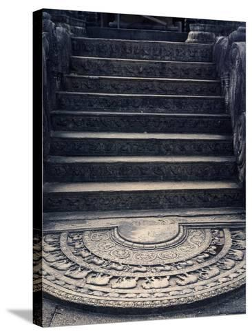 Staircase--Stretched Canvas Print