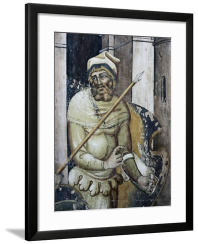 Figure of Soldier--Framed Art Print