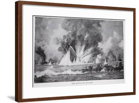 The Battle of Jutland--Framed Art Print