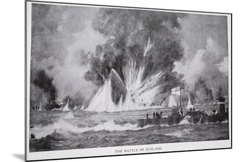The Battle of Jutland--Mounted Giclee Print