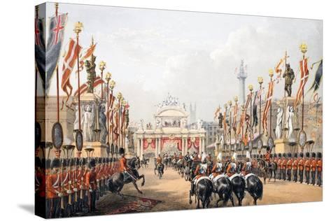 London Bridge--Stretched Canvas Print
