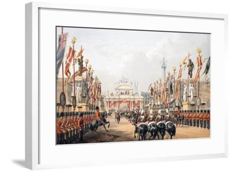 London Bridge--Framed Art Print