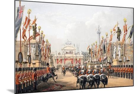 London Bridge--Mounted Giclee Print