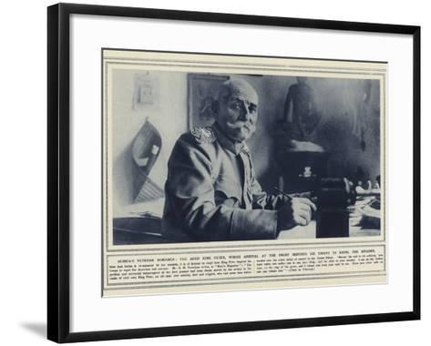 Serbia's Veteran Monarch--Framed Art Print
