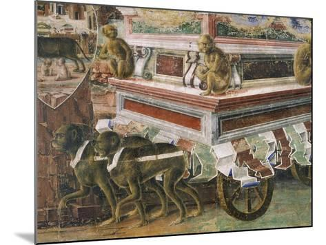 Chariot Drawn by Monkeys--Mounted Giclee Print