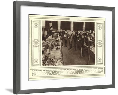 From the German Side--Framed Art Print