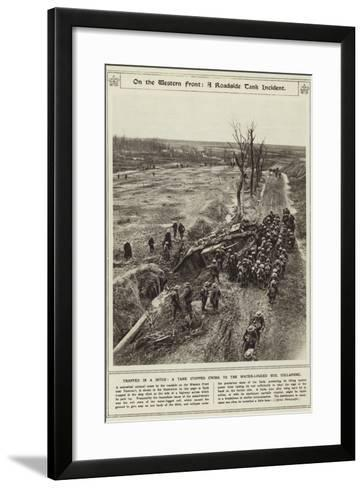 On the Western Front--Framed Art Print