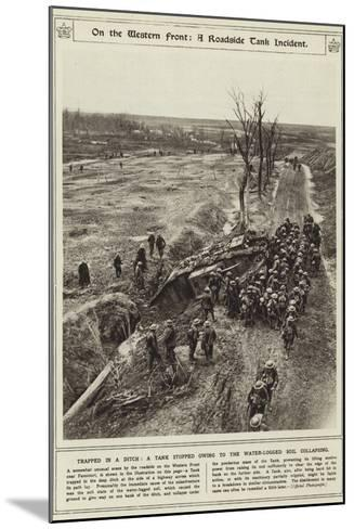 On the Western Front--Mounted Photographic Print