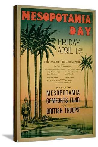 Mesopotamia Day--Stretched Canvas Print