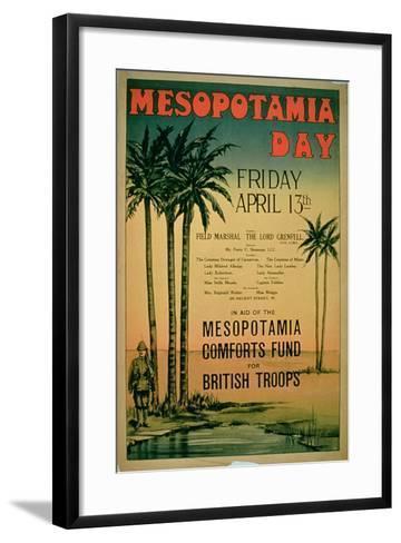 Mesopotamia Day--Framed Art Print