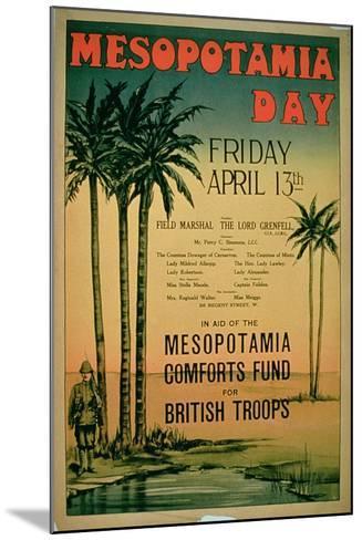 Mesopotamia Day--Mounted Giclee Print