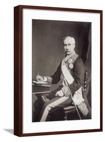 Sir Henry Frere--Framed Art Print