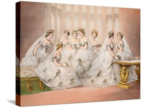 The Bridesmaids--Stretched Canvas Print