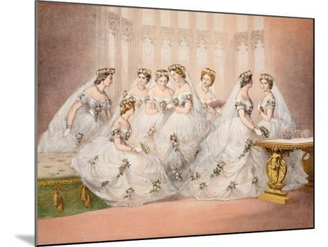 The Bridesmaids--Mounted Giclee Print