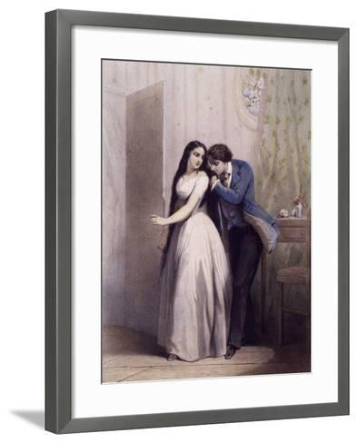 Character of Genevieve--Framed Art Print