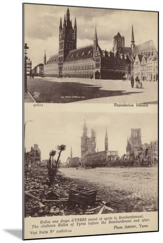 The Cloth Hall--Mounted Photographic Print