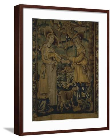 Astrea and Celadon--Framed Art Print
