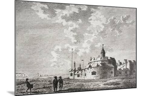Hurst Castle--Mounted Giclee Print