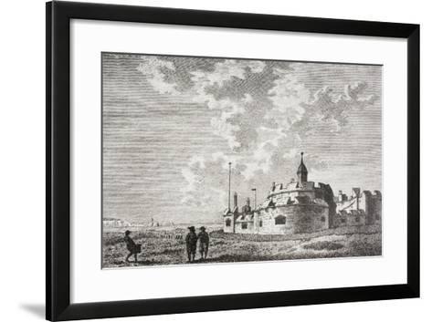 Hurst Castle--Framed Art Print