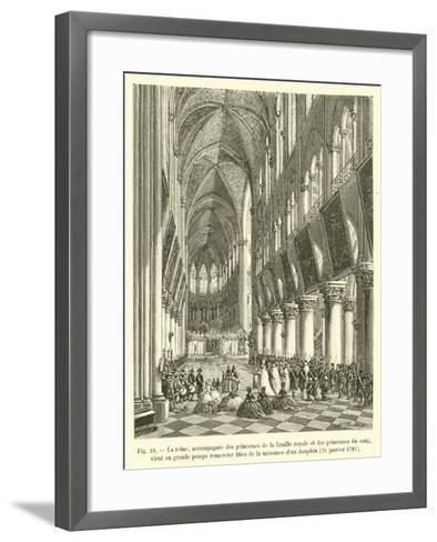 La Reine--Framed Art Print