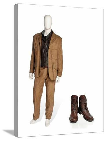 Costume Worn by Pierce Brosnan as James Bond in the Film 'Die Another Day', 2002--Stretched Canvas Print