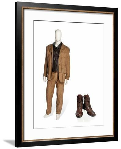 Costume Worn by Pierce Brosnan as James Bond in the Film 'Die Another Day', 2002--Framed Art Print