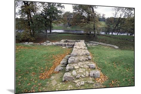 Ruins of the Second Bridge of Chesters, Chesters Roman Fort, Hadrian's Wall--Mounted Photographic Print