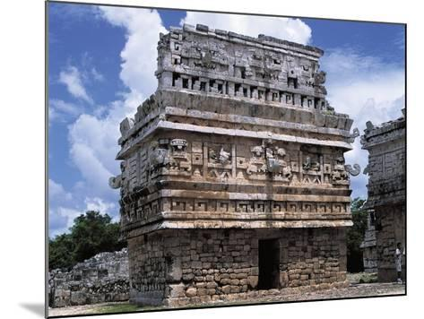 Mexico, Yucatan State, Chichen Itza, Maya-Toltec Archaeological Site, Complex of Las Monjas--Mounted Photographic Print