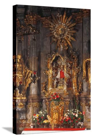 Altar of the Infant Jesus of Prague, Church of Our Lady Victorious, Prague, Czech Republic--Stretched Canvas Print