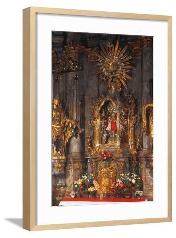 Altar of the Infant Jesus of Prague, Church of Our Lady Victorious, Prague, Czech Republic--Framed Art Print