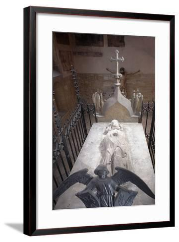 Tomb of St. Ludmila of Bohemia in St. George's Basilica at Prague Castle, Prague, Czech Republic--Framed Art Print