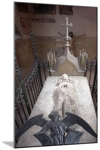 Tomb of St. Ludmila of Bohemia in St. George's Basilica at Prague Castle, Prague, Czech Republic--Mounted Photographic Print